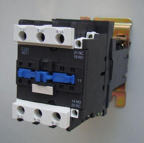 CHINT CJX2-4011 AC CONTACTOR  3 POLE+1NO 1NC 40A LC1D4011