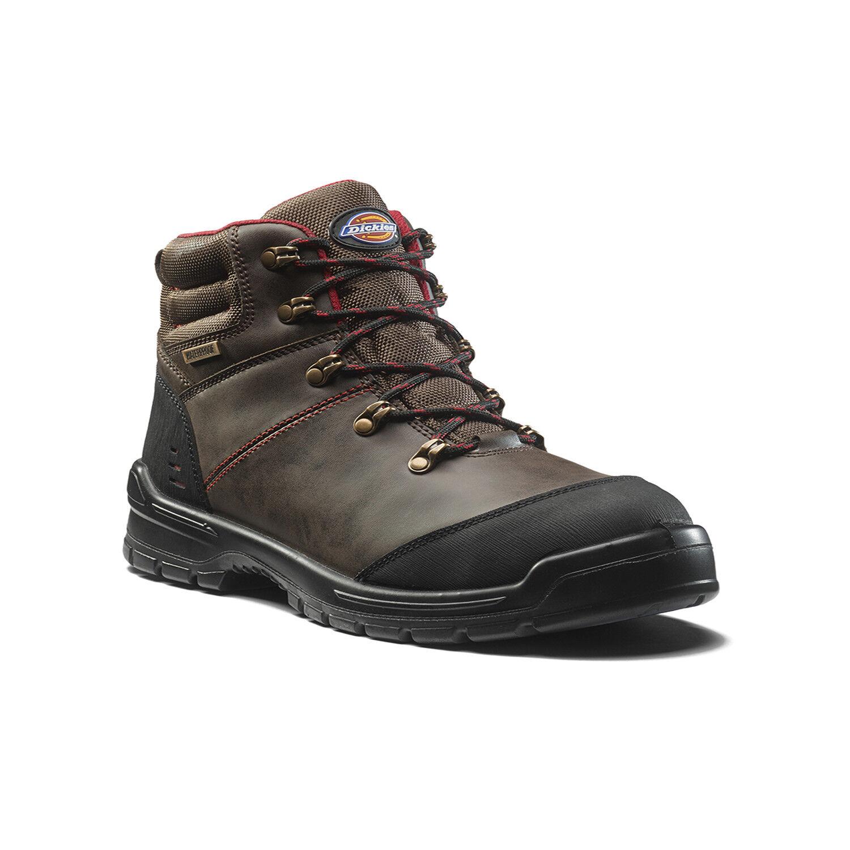 Dickies Cameron Sécurité Travail Bottes Marron (Taille (Taille (Taille 6-12) Chaussures Hommes e552ff