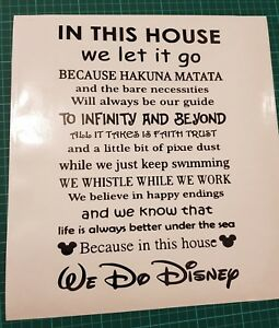 disney film quotes wall art home decor wall decals