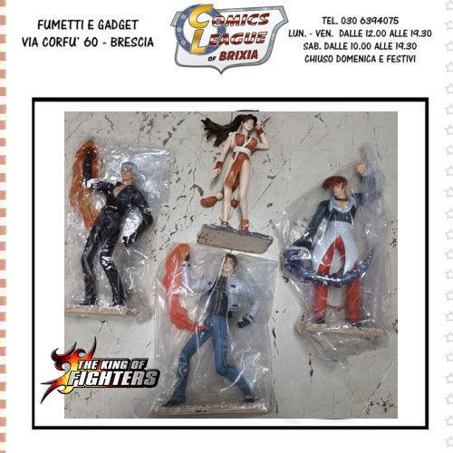 descuento de ventas en línea Set 4 personaggi The The The king of figthers  promociones