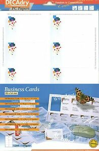 Decadry Scb 2072 Business Cards Pixels Theme Make Your Own