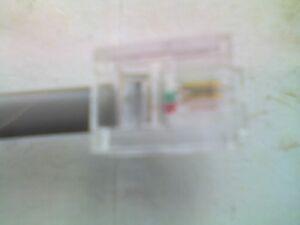 Travailleur Rj11 (6p2c) à Rj11 (6p2c) 2 Mètres Gris Plat Câble De Téléphone-occasion-non Testé-un-afficher Le Titre D'origine