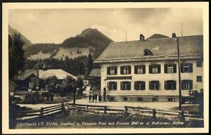 AK12-AK-Schattwald-Bez-Reute-Gasthaus-Post-Tirol-Ponten-Bscheisser-1930