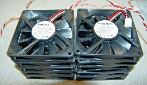 NMBMAT 7 3106KL04WB59 Fan Set of 10