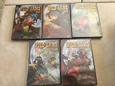 Wild Arms - Vol. 1,2,3,4,5 (DVD, 2003) NEW