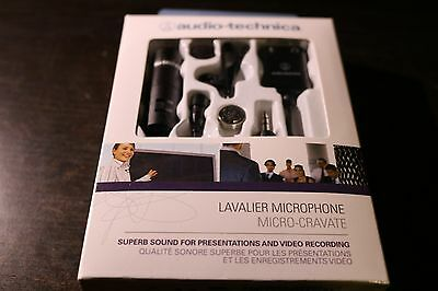 Audio-Technica ATR3350 Condenser Lavalier Wired - 3.5 mm Professional Microphone