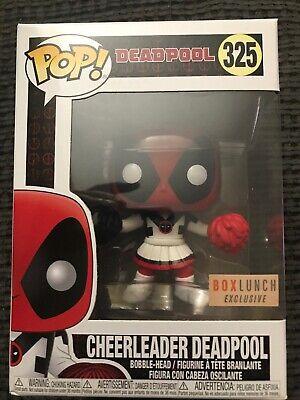 Vinyl Marvel BoxLunch Exclusive Cheerleader Deadpool #325 Funko Pop
