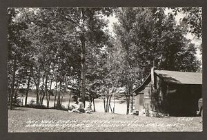 Details about POSTCARD: CABIN AT WIEDENHOEFT'S BIRCHWOOD RESORT ON JACKSON  LAKE - CABLE, WI