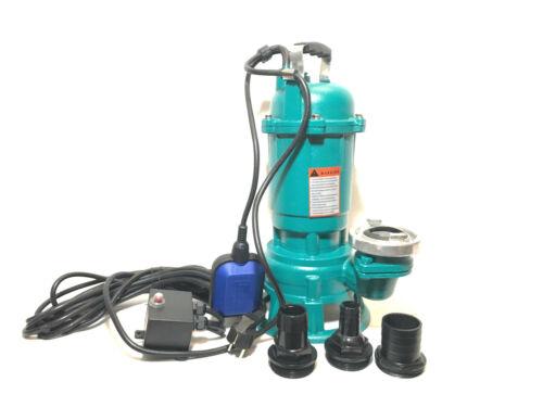 Schmutzwasserpumpe Fäkalienpumpe 0,55kW Schneidwerk,Tauchpumpe Gewebeschlach