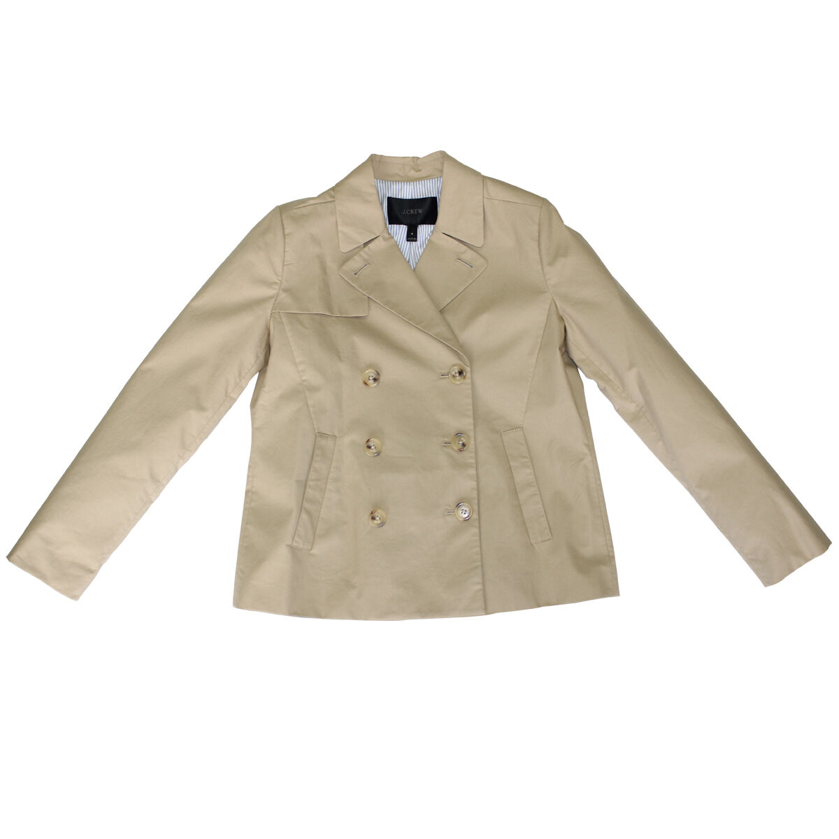 J CREW JAPANESE POPLIN SWING TRENCH COAT