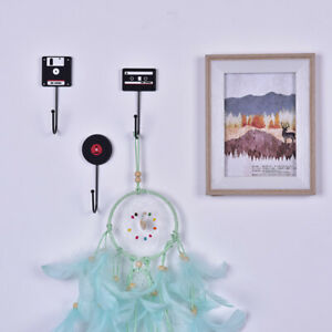 1PC-Minimalist-Home-Decoration-Retro-Hanger-Decorative-Wall-Hooks-Holder-Rack-UK