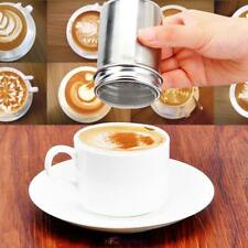 Stainless Steel Chocolate Cocoa Flour Shaker Icing Sugar Powder Coffee Si #NS