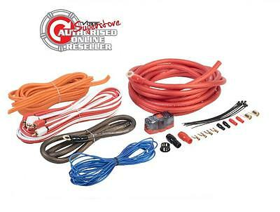 Vibe CL 4 awkt 4 AWG 2000 W Completo Calibre 4 COCHE AMPLIFICADOR AMP SUB Kit de cableado