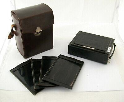Alte Kameras Foto & Camcorder Logisch Ica Ideal 9x12 Foldable Camera Zeiss Tessar 4,5/135 135 Mm 4,5 Full Set /19 Feine Verarbeitung