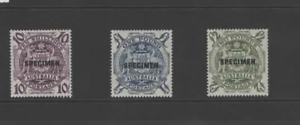 AUSTRALIA-1948-SET-OF-3-SPECIMEN-SG224bs-224ds-MNH