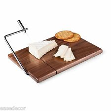 NCAA LSU Tigers Meridian Black Walnut Cutting Board with Cheese Slicer