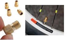 HOA  2Pcs Presta to Schrader Tube Pump Tool Converter Bicycle Tire Valve Adaptor