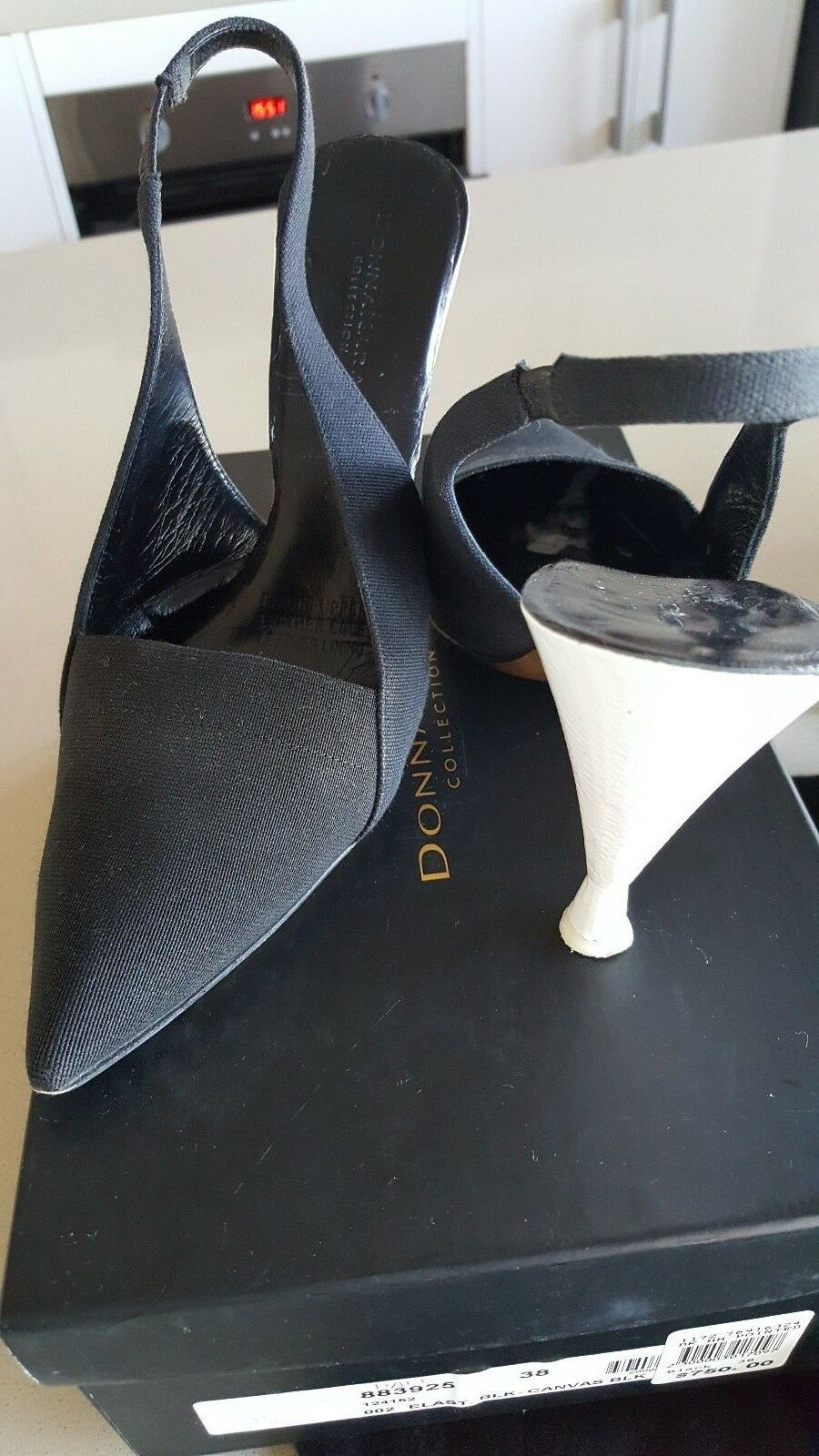 Men's/Women's Donna Karan Collection Black shoes wholesale special promotion Contrary to the same paragraph