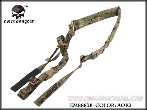 Emersongear Tactical 2 Point Rifle Gun Sling Quick Padded Gun Strap Adjustable