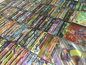 Pokemon-3-CARD-LOT-GUARANTEED-GX-EX-BREAK-MEGA-FULL-ART-2-RARE-HOLO