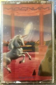 SEALED NEW MAGNUM CASSETTE TAPE VIGILANTE 1986 MADE IN CANADA ONLY ONE ON EBAY!!