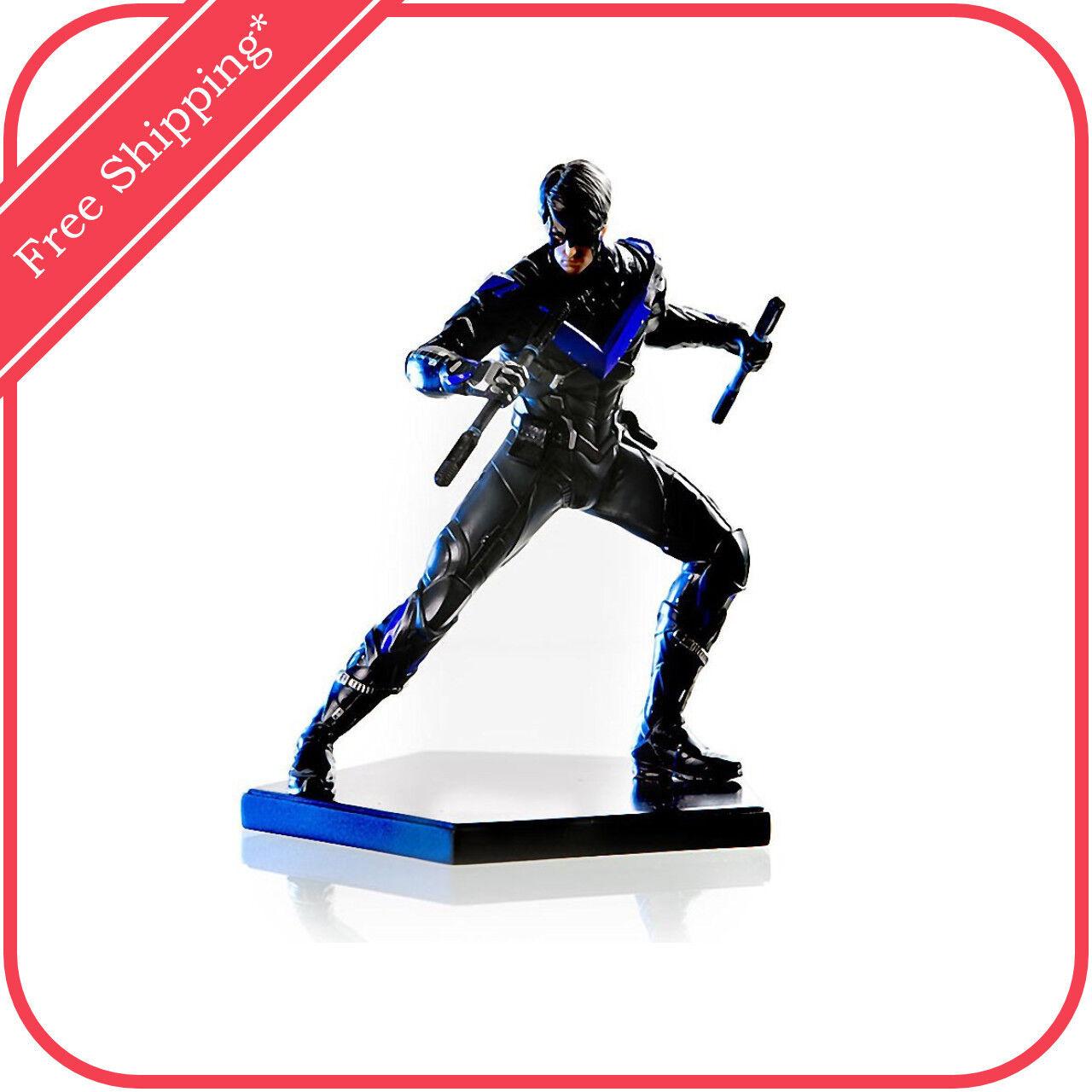 DC Comics Batman  Arkham Knight Nightwing 1 10 Escala Estatua por Iron Studios