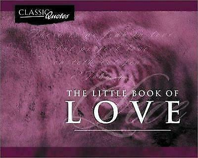 The Little Book of Love  Paperback Used - Good