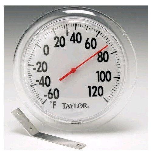 "Taylor 5630 Indoor//Outdoor Thermometer 6/"" diameter"