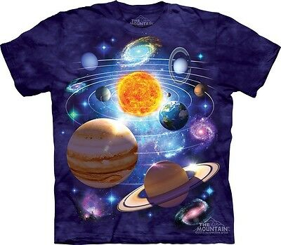 You Are Here T-Shirt by The Mountain. Universe Galaxy Stars Planet Tee S-3XL NEW