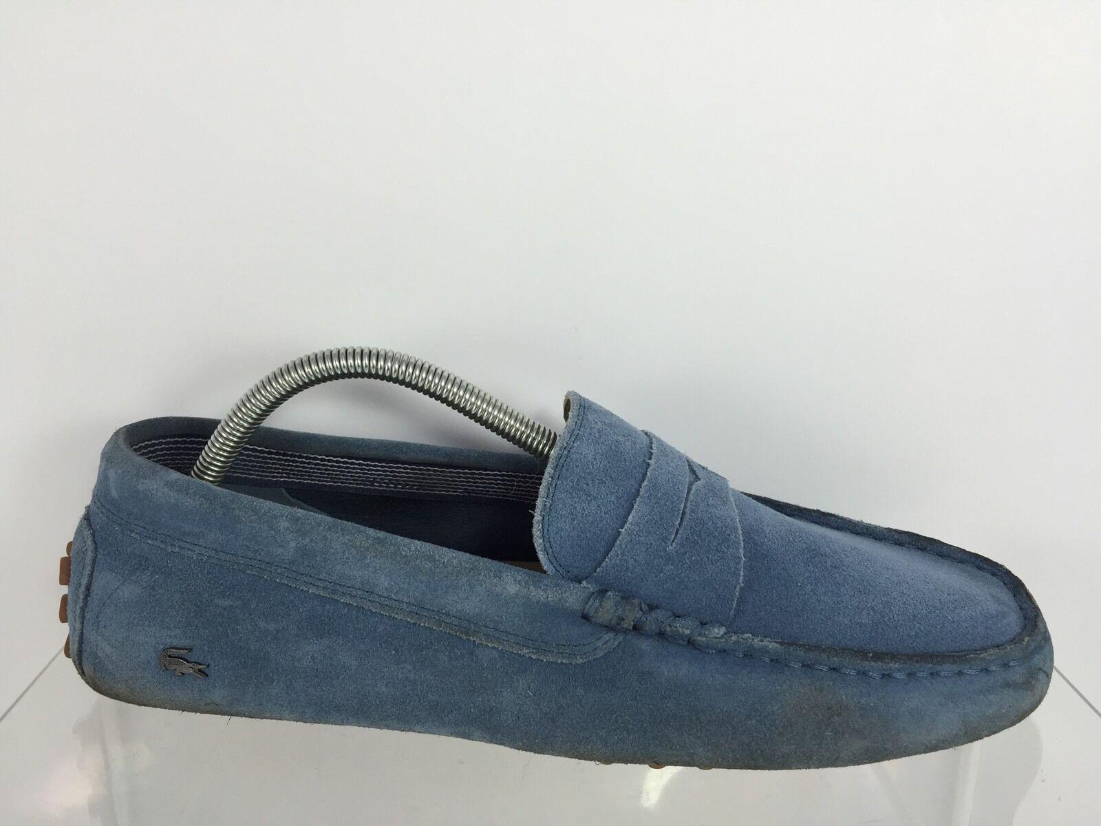 Lacoste  Uomo Blau Suede 9.5 Schuhes 9.5 Suede c28f46