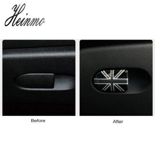 Union Jack Glove Storage Box Handle Cover For Mini Cooper F55 F56 F57 Hatchback
