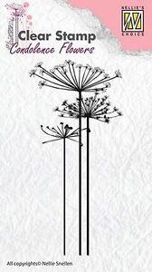 Motivstempel-Clearstamp-Condolence-flowers-1-Kondolenz-Nellie-Snellen-CSCF001
