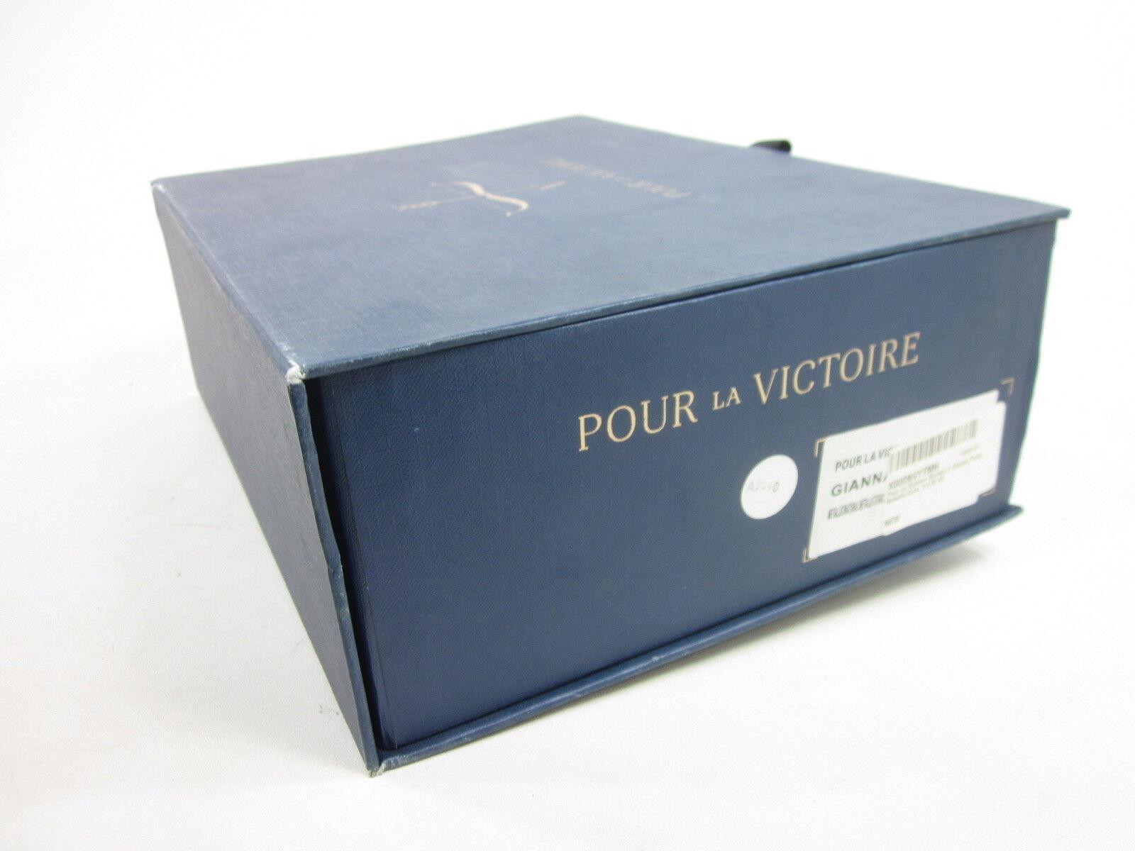 POUR LA LA LA VICTOIRE, GIANNA PUMP, METALLIC  CORK, damen, US 9.5 M, EURO 39.5, NIB 1ff570