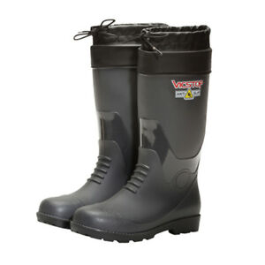 b79baf75670 Details about Oil Resistant Safety Rubber Boots Steel Toe Non-slip 270mm  KOREA