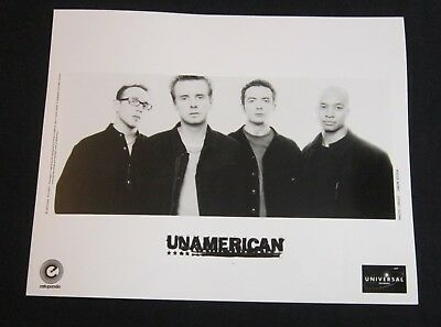 Other Music Memorabilia Beautiful Unamerican--publicity Photo*