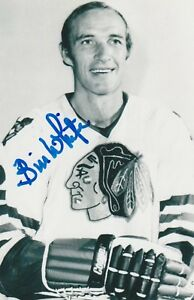 BILL-WHITE-AUTHENTIC-AUTOGRAPH-CHICAGO-BLACKHAWKS-PHOTO