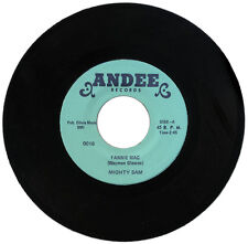 """MIGHTY SAM  """"FANNIE MAC c/w BADMOUTHIN""""   CLASSIC 60's SOUL    LISTEN!"""