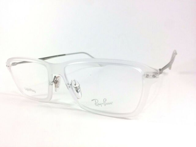 e52ee1c53f2 RAYBAN EYEGLASSES FRAME RB 7038 CLEAR 5452 LIGHTRAY 53-16-135mm FREE  SHIPPING!
