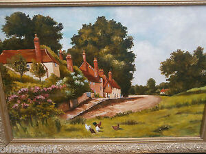 Large Oil Painting  refA3ky 724 - <span itemprop=availableAtOrFrom>wimborne, Dorset, United Kingdom</span> - all returns excepted and fully refunded , postage refund if error in listing or is not as listed , otherwise buyer pays return postage costs for remorse returns Most purchases fr - wimborne, Dorset, United Kingdom