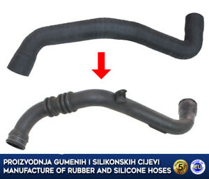 renault laguna ii 1 9 dci intercooler turbo hose 8200360086 8200730597 ebay. Black Bedroom Furniture Sets. Home Design Ideas