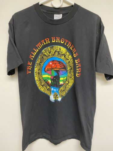 Mens Wild Oats Vintage Allman Brothers Band Black