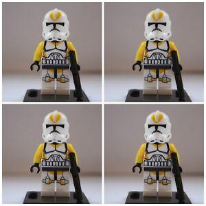 Star Wars Yellow Utapau Storm Clone Troopers Mini Figures use with lego 1 Jedi