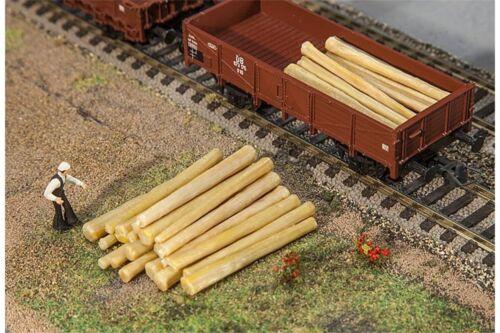 20 Logs Faller 180925 HO 1//87 20 Troncs d/'arbres
