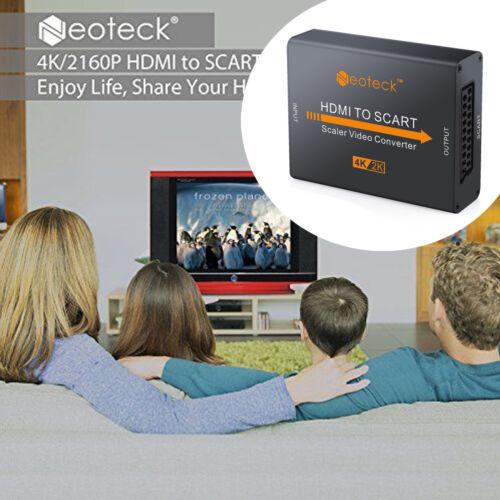 4K x 2K HDMI 1.4b NTSC PAL TV OSD HDCP 1.4 HDMI to SCART Converter HD NEW