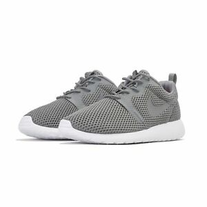 ea1200211a88 Men s Nike Roshe One HYP Rosherun Hyperfuse BR Grey 833125 002 size ...