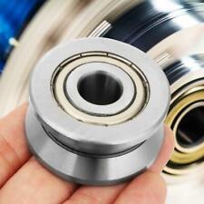 New 1 Pcs 124120mm V Metal Sealed Ball Track Roller Bearing Lv201zz