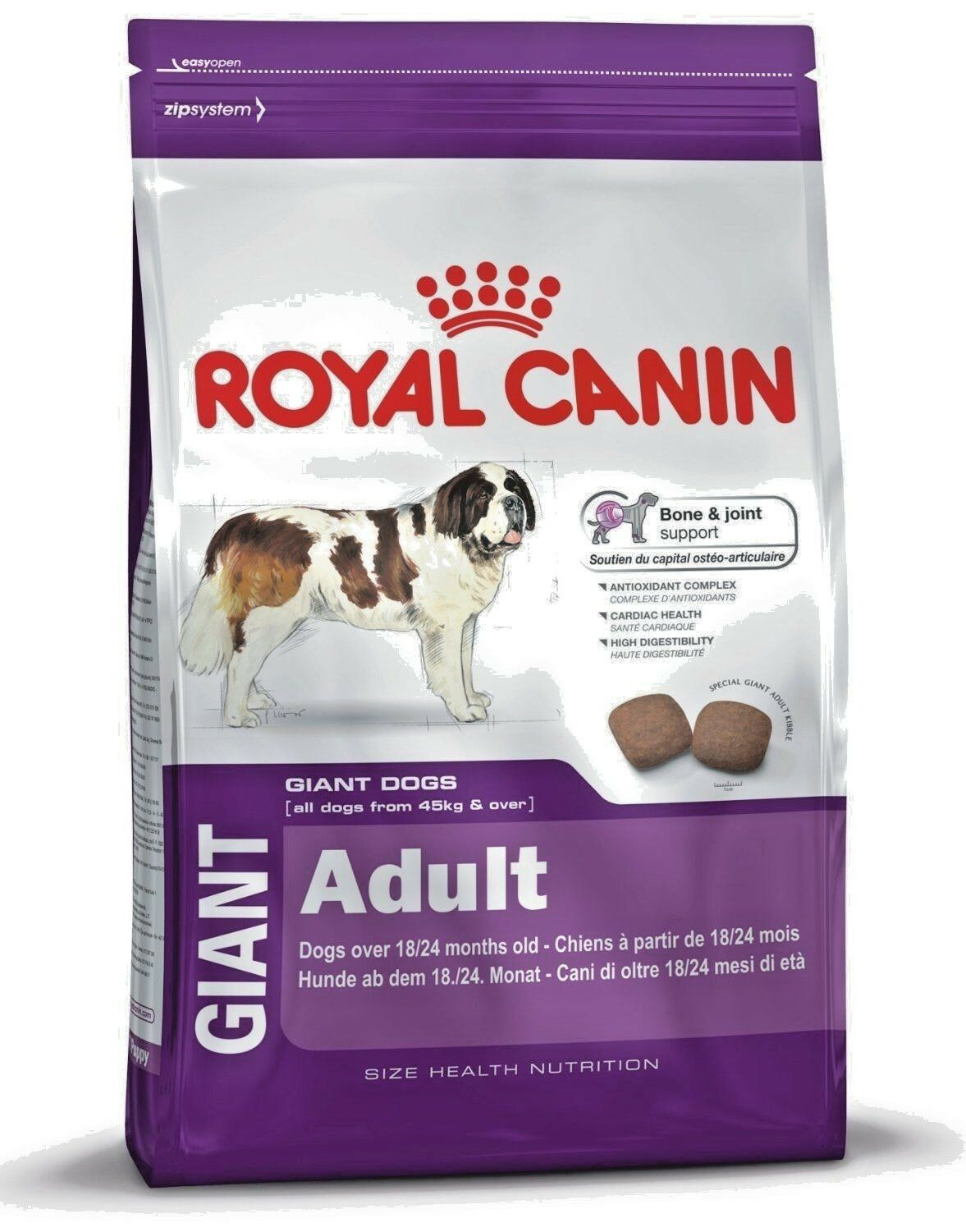 Giant Adult Kg 15 Royal canin