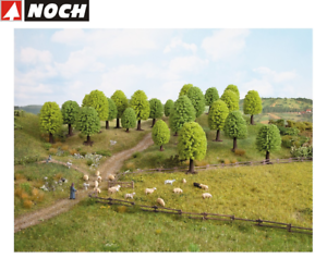 NOCH-26801-Deciduous-Trees-5-9-CM-High-25-Piece-New-Boxed