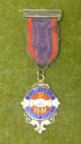EQUITABLE FRIENDLY SOCIETY AWARD MEDAL SILVER