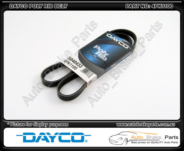 Dayco Poly Rib A/C Belt suit HOLDEN BERLINA VY 5.7L V8 (LS1) - 4PK1100